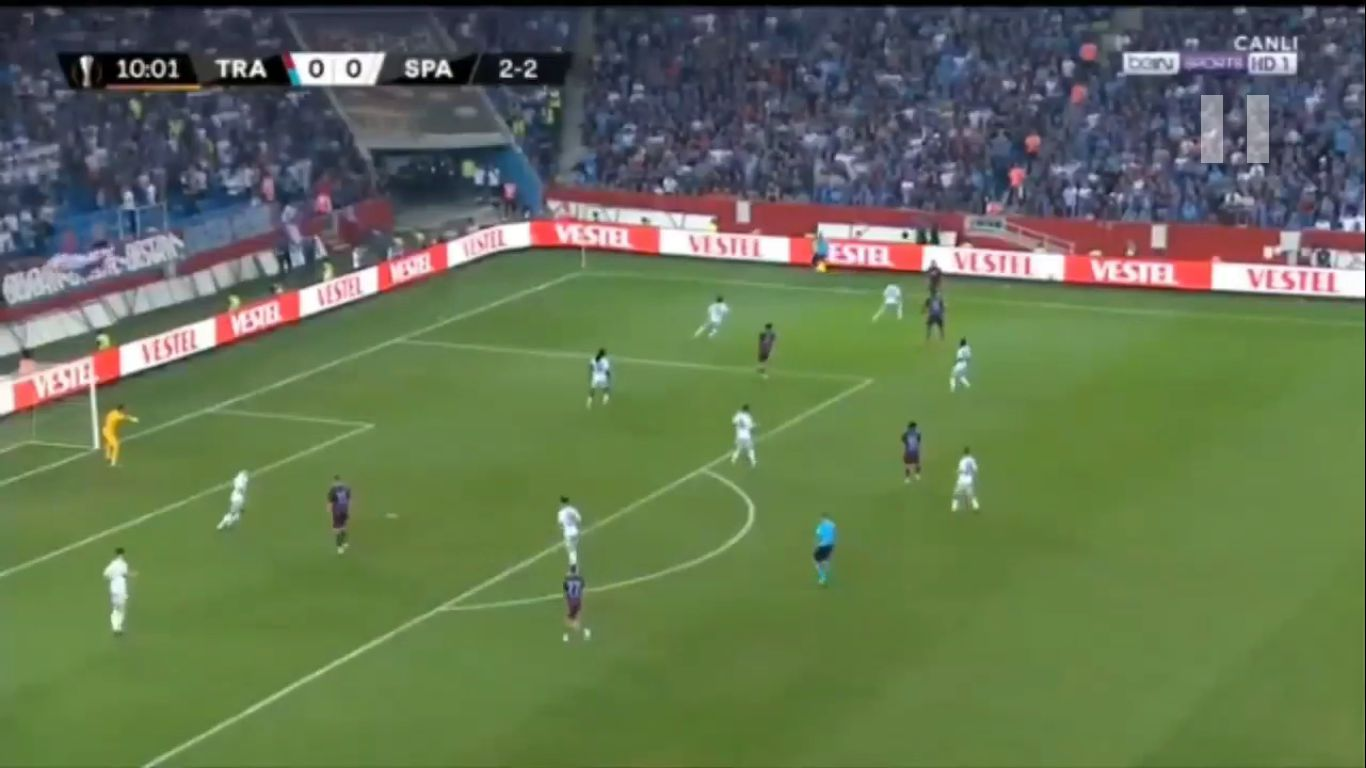 15-08-2019 - Trabzonspor 2-1 Sparta Prague (EUROPA LEAGUE QUALIF.)