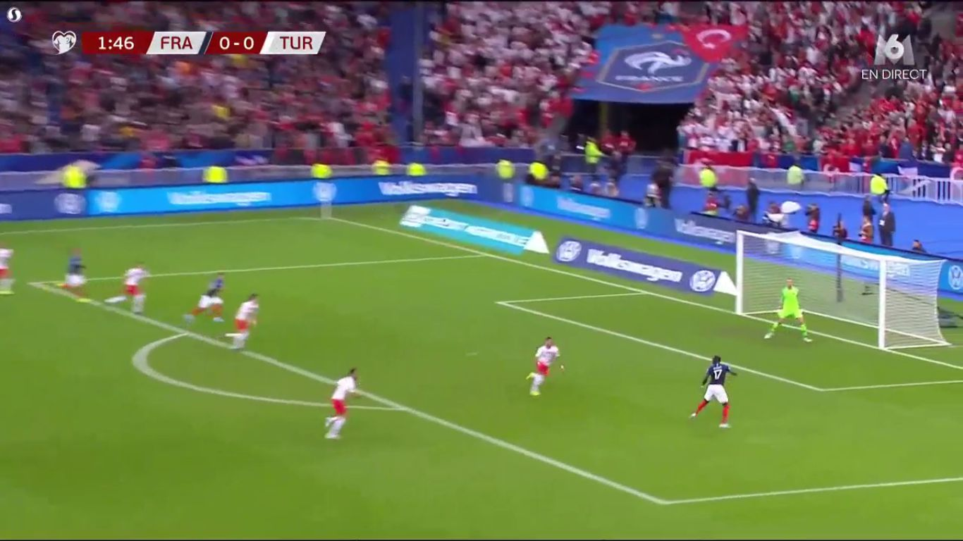 14-10-2019 - France 1-1 Turkey (EURO QUALIF.)