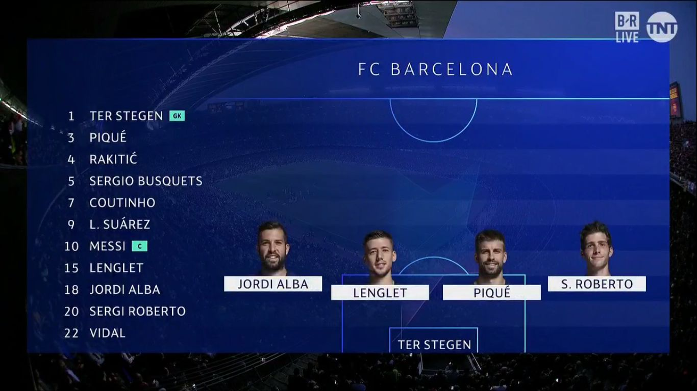 01-05-2019 - Barcelona 3-0 Liverpool (CHAMPIONS LEAGUE)