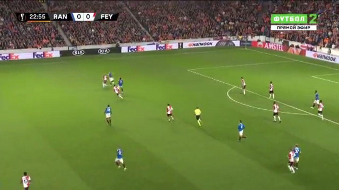 19-09-2019 - Rangers 1-0 Feyenoord (EUROPA LEAGUE)