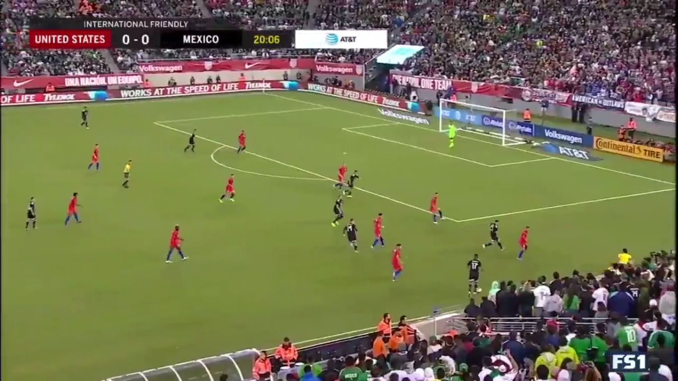 07-09-2019 - USA 0-3 Mexico (FRIENDLY)