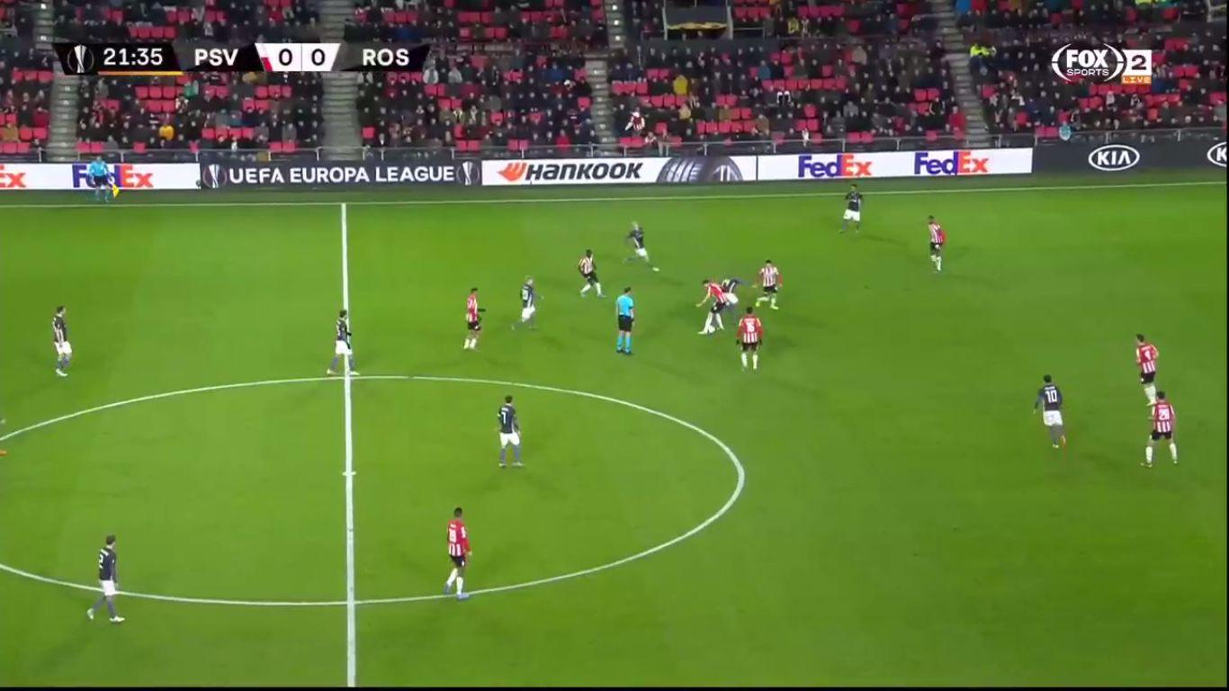 12-12-2019 - PSV Eindhoven 1-1 Rosenborg (EUROPA LEAGUE)