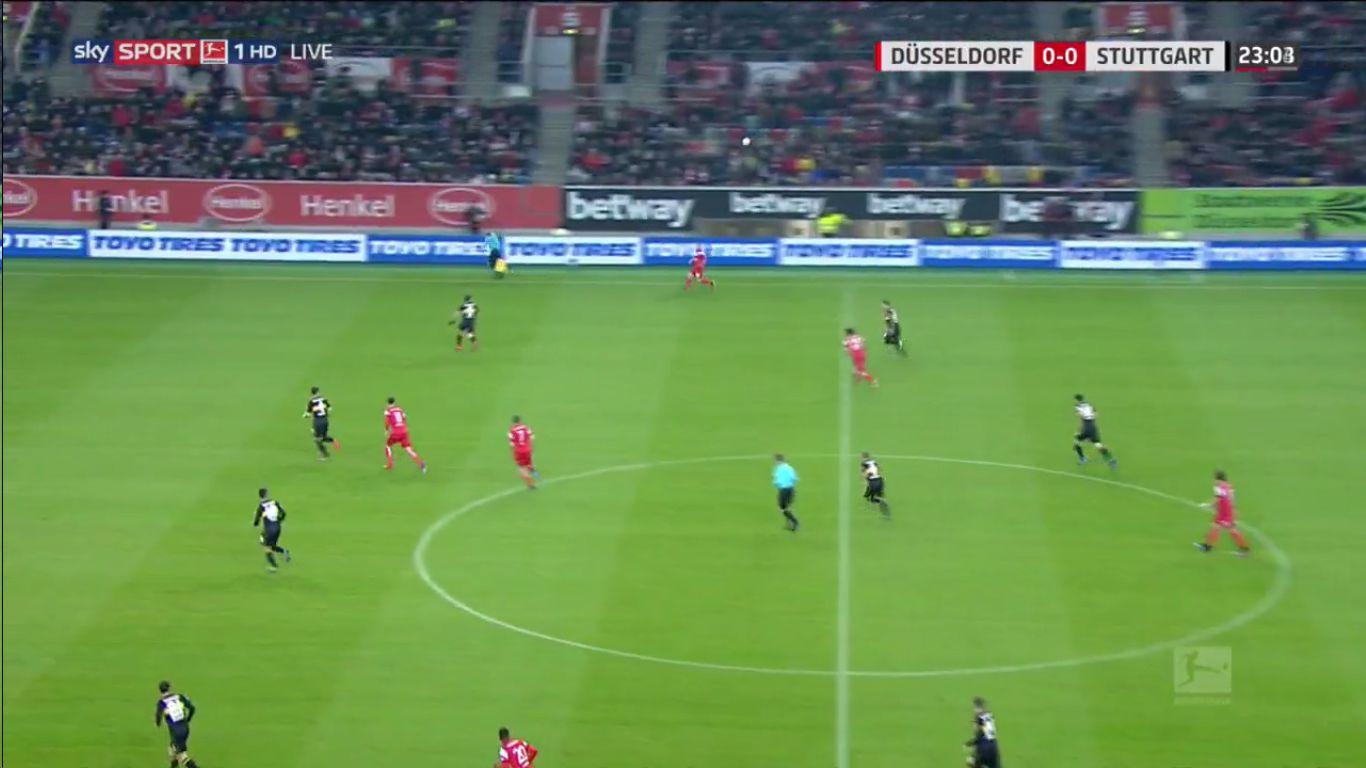 10-02-2019 - Fortuna Dusseldorf 3-0 VfB Stuttgart
