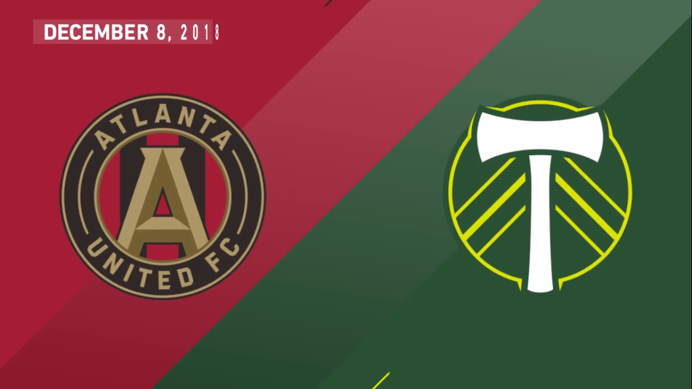 09-12-2018 - Atlanta United Fc 2-0 Portland Timbers (PLAY-OFF FINAL)