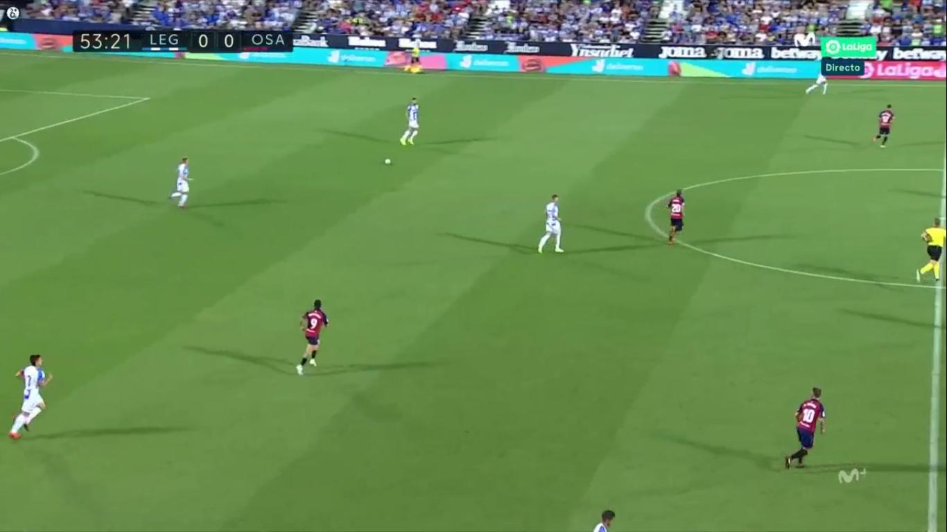 17-08-2019 - Leganes 0-1 Osasuna