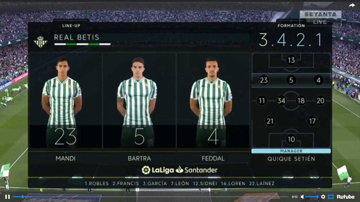 21-04-2019 - Real Betis 1-2 Valencia