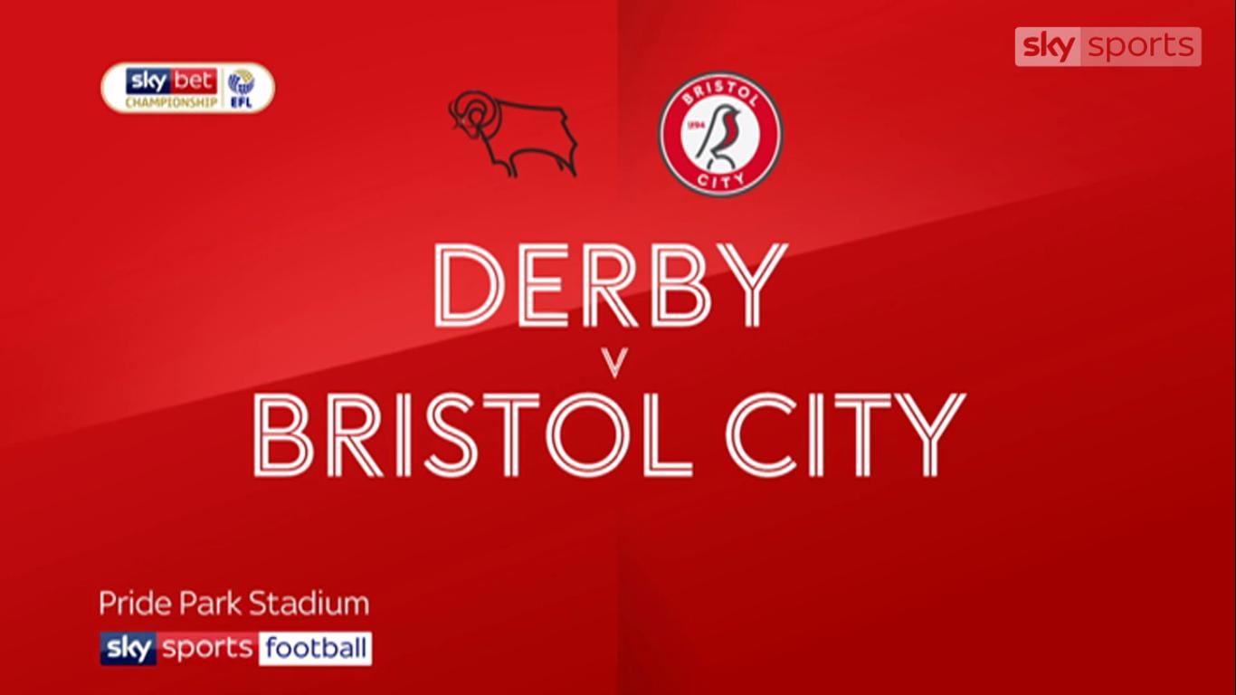 20-08-2019 - Derby County 1-2 Bristol City (CHAMPIONSHIP)