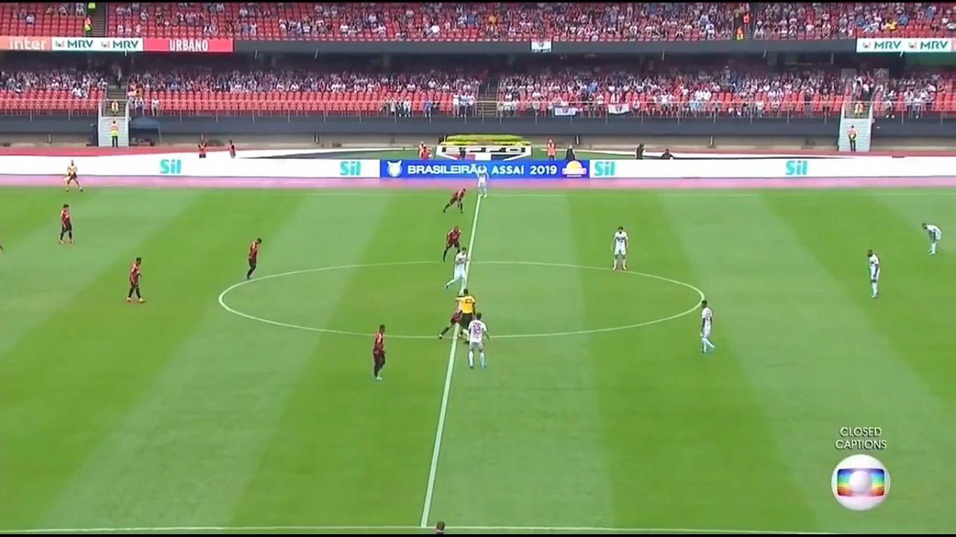 11-11-2019 - Sao Paulo 0-1 CA Paranaense PR
