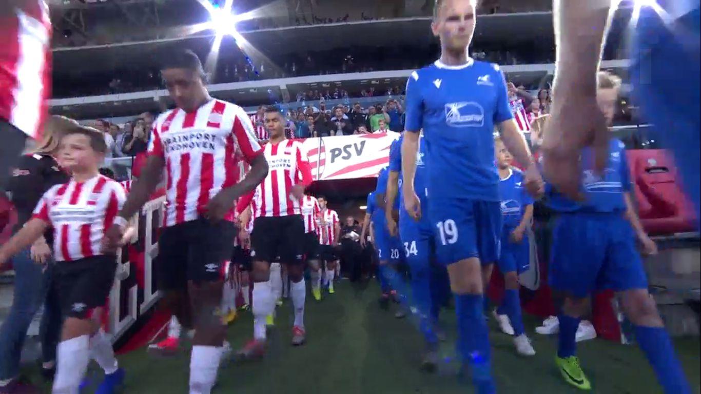 15-08-2019 - PSV Eindhoven 0-0 FK Haugesund (EUROPA LEAGUE QUALIF.)