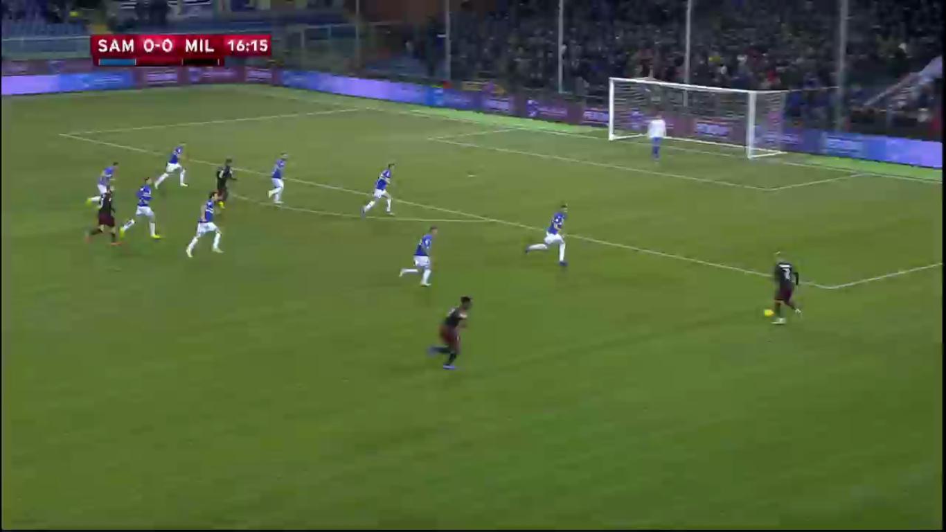 12-01-2019 - Sampdoria 0-2 Milan (COPPA ITALIA)