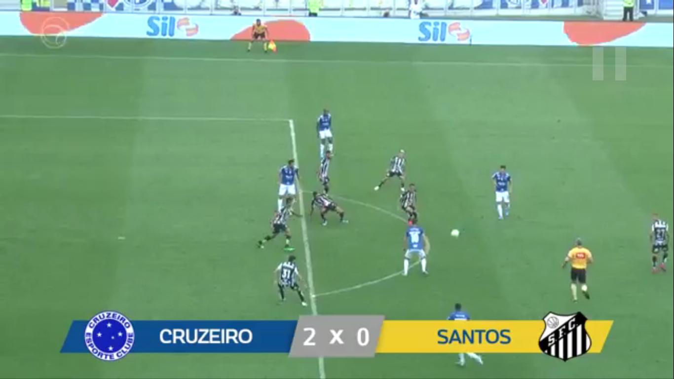 19-08-2019 - Cruzeiro 2-0 Santos FC SP
