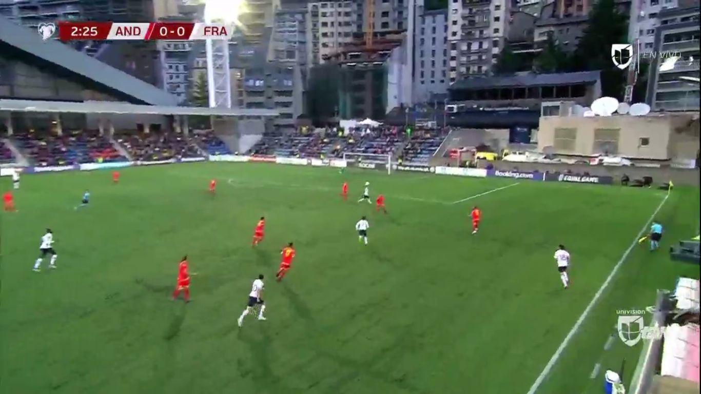 11-06-2019 - Andorra 0-4 France (EURO QUALIF.)