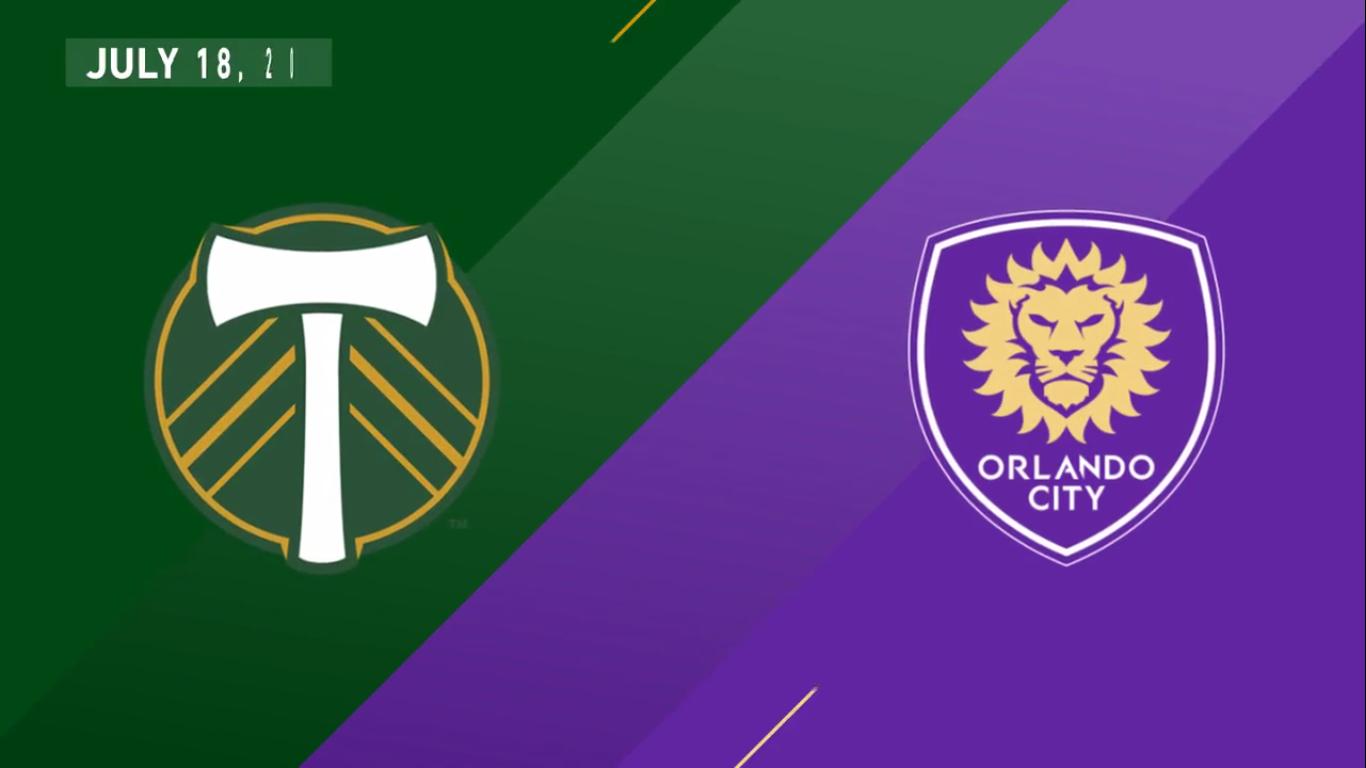 19-07-2019 - Portland Timbers 1-1 Orlando City