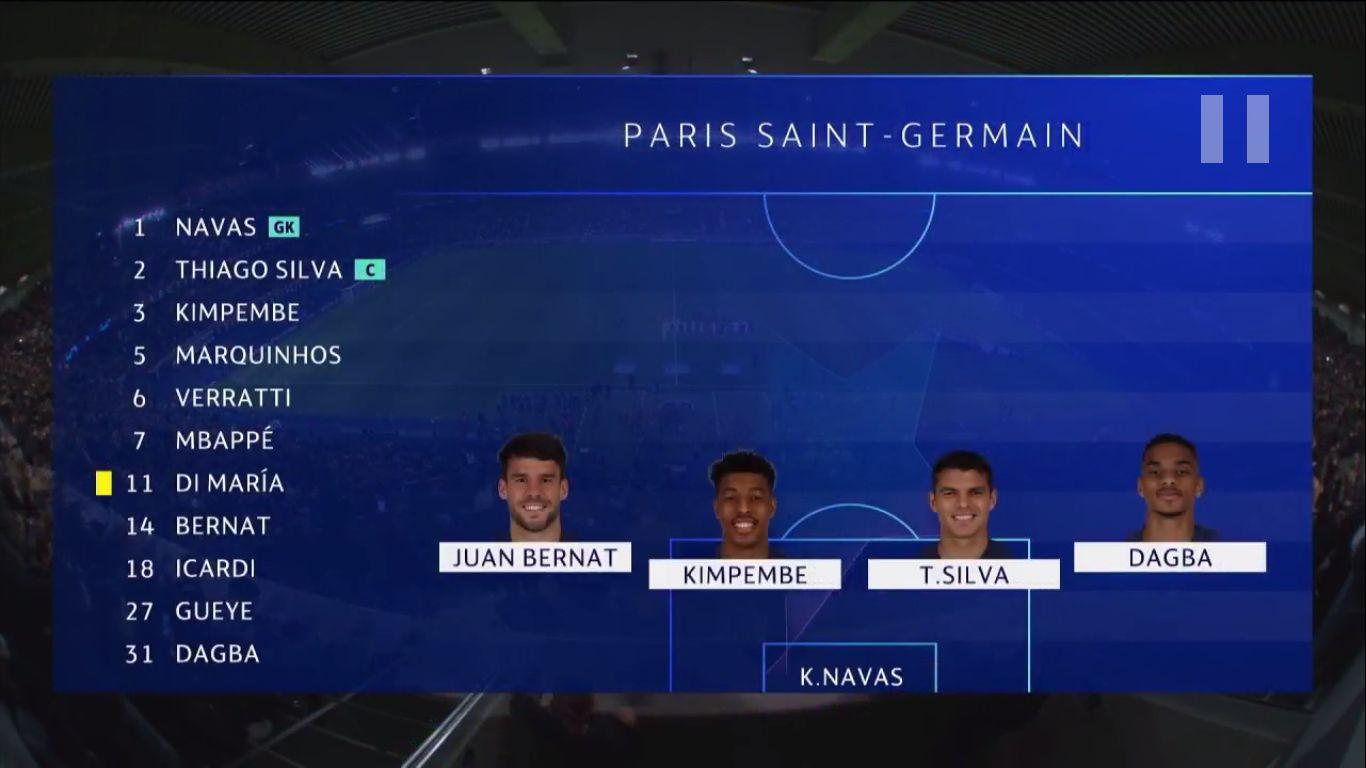 06-11-2019 - Paris Saint-Germain 1-0 Club Brugge (CHAMPIONS LEAGUE)