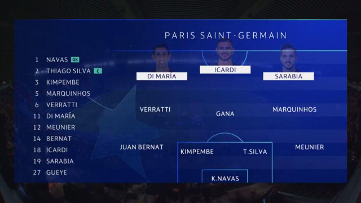 18-09-2019 - Paris Saint-Germain 3-0 Real Madrid (CHAMPIONS LEAGUE)