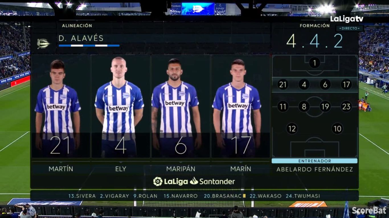 19-04-2019 - Deportivo Alaves 2-2 Real Valladolid