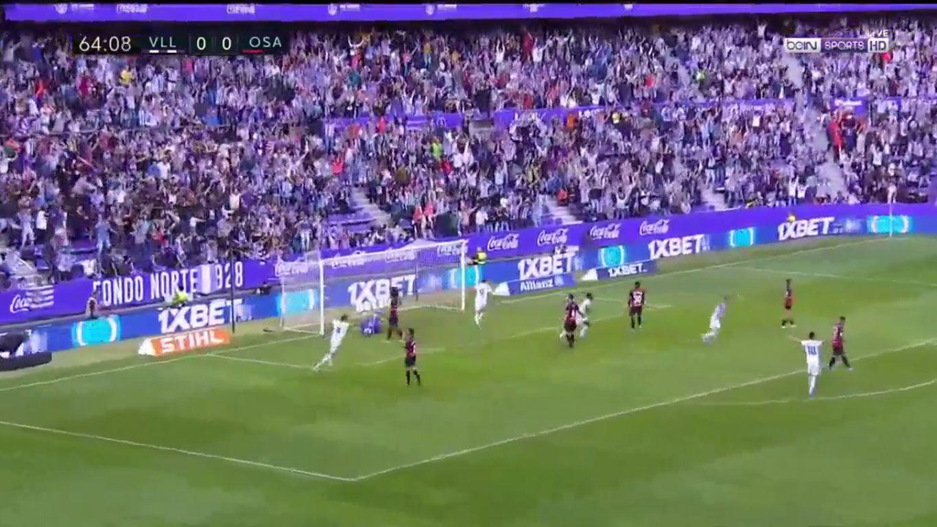 15-09-2019 - Real Valladolid 1-1 Osasuna