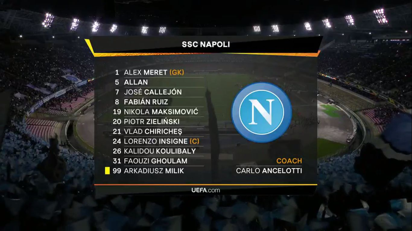 18-04-2019 - Napoli 0-1 Arsenal (EUROPA LEAGUE)