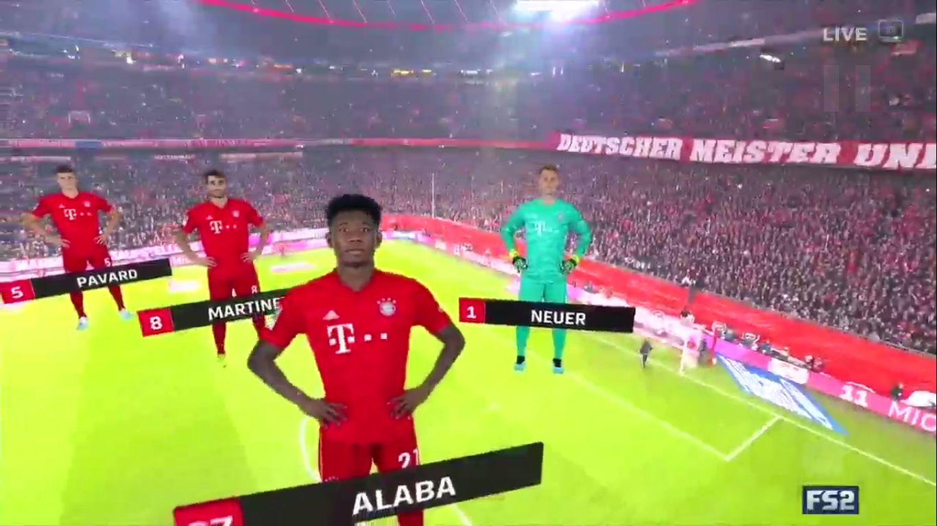 09-11-2019 - FC Bayern Munchen 4-0 Borussia Dortmund
