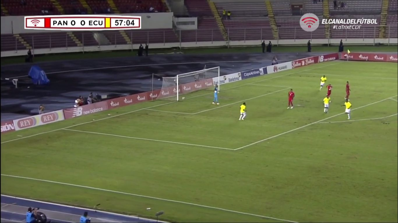 21-11-2018 - Panama 1-2 Ecuador (FRIENDLY)