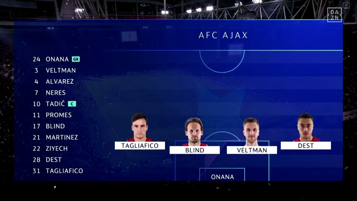 17-09-2019 - Ajax 3-0 Lille (CHAMPIONS LEAGUE)