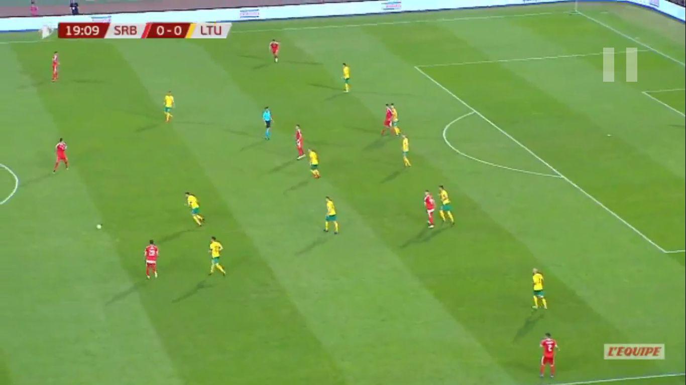 10-06-2019 - Serbia 4-1 Lithuania (EURO QUALIF.)