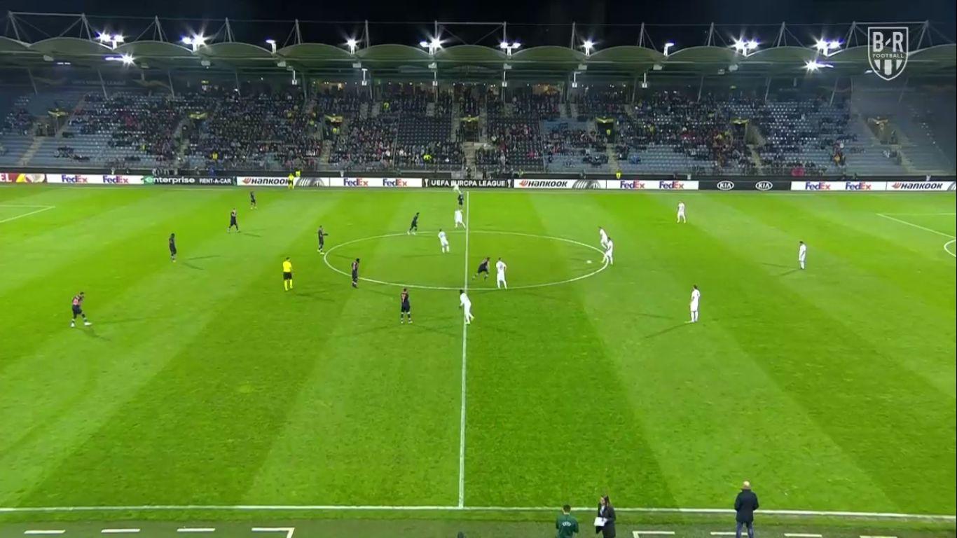 07-11-2019 - Wolfsberger AC 0-3 Istanbul Basaksehir (EUROPA LEAGUE)