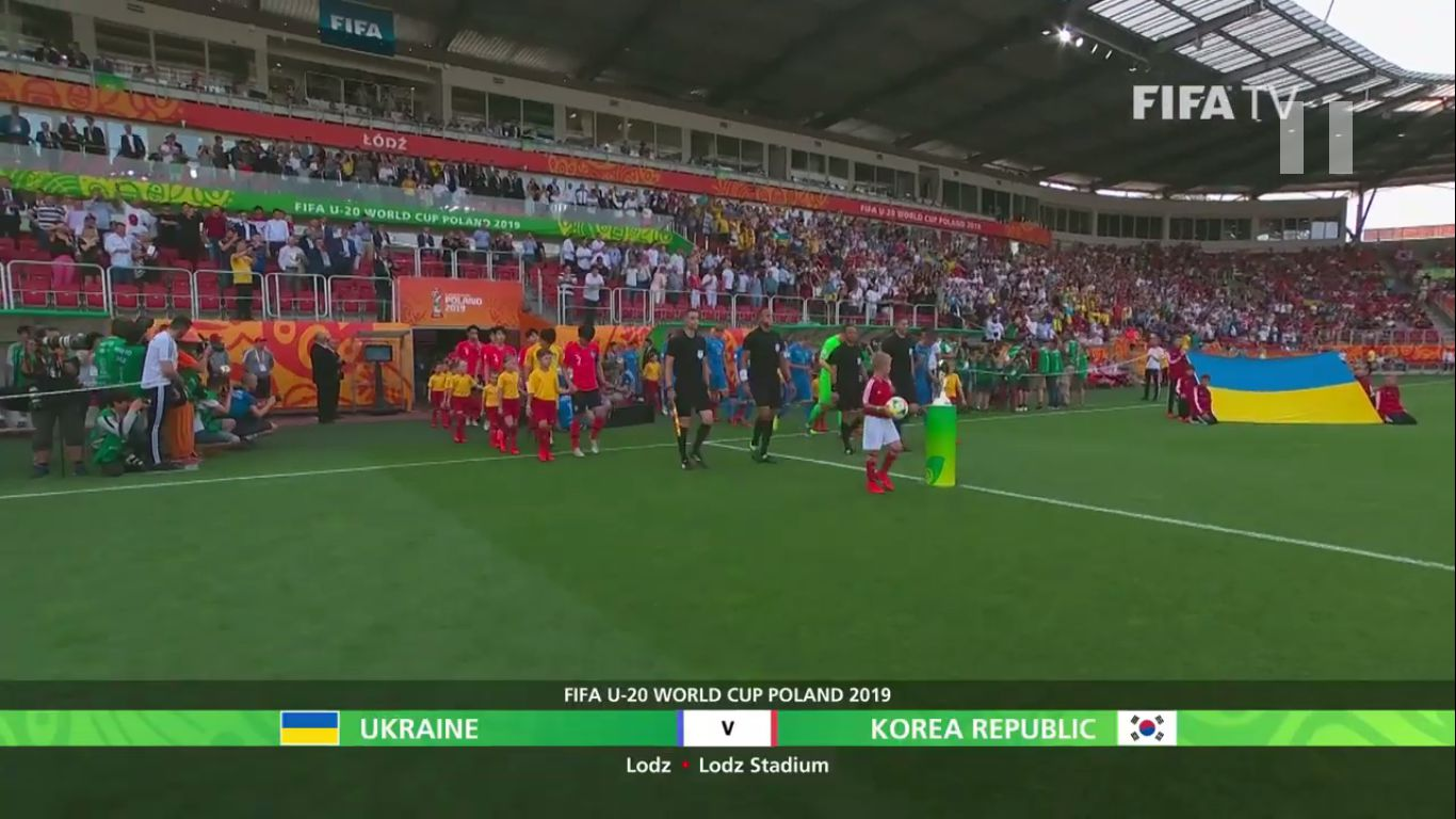 15-06-2019 - Ukraine U20 3-1 South Korea U20 (WORLD CUP U20 - FINAL)