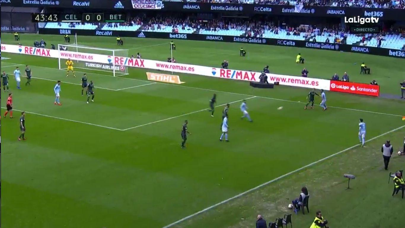 10-03-2019 - Celta Vigo 0-1 Real Betis