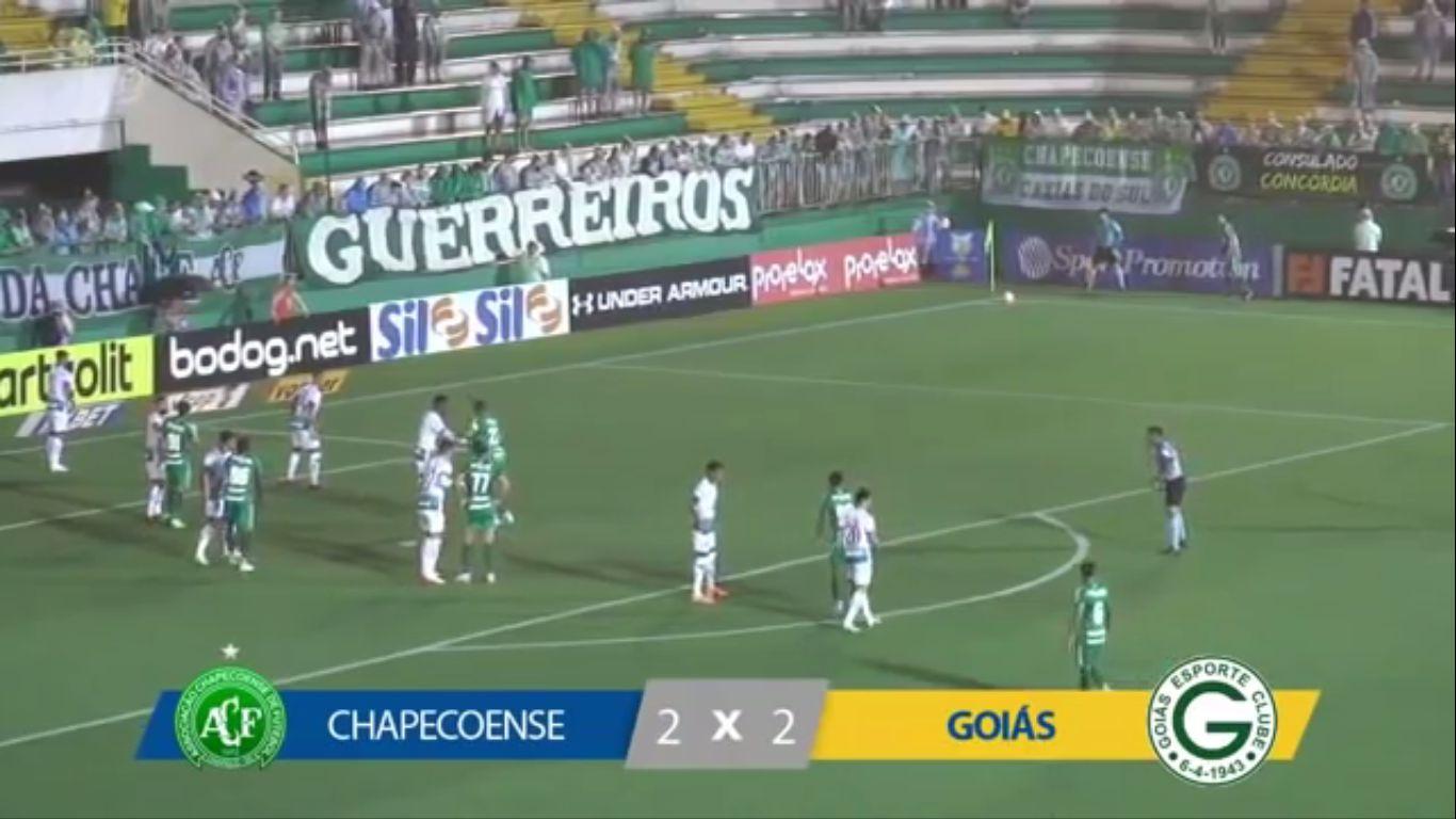 21-10-2019 - Chapecoense AF 2-2 Goias