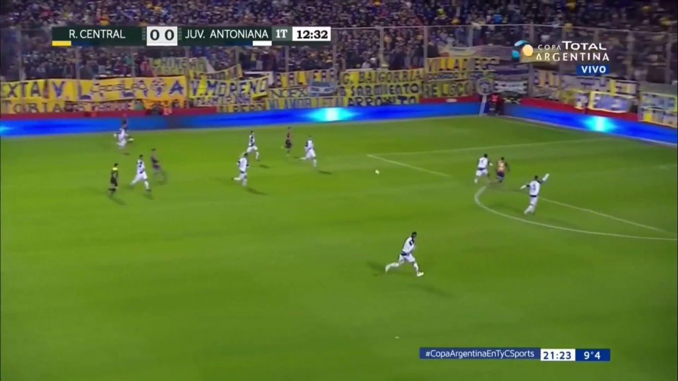 03-08-2018 - Rosario Central 6-0 Juventud Antoniana (COPA ARGENTINA)