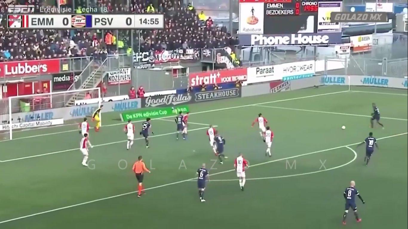 20-01-2019 - FC Emmen 2-2 PSV Eindhoven