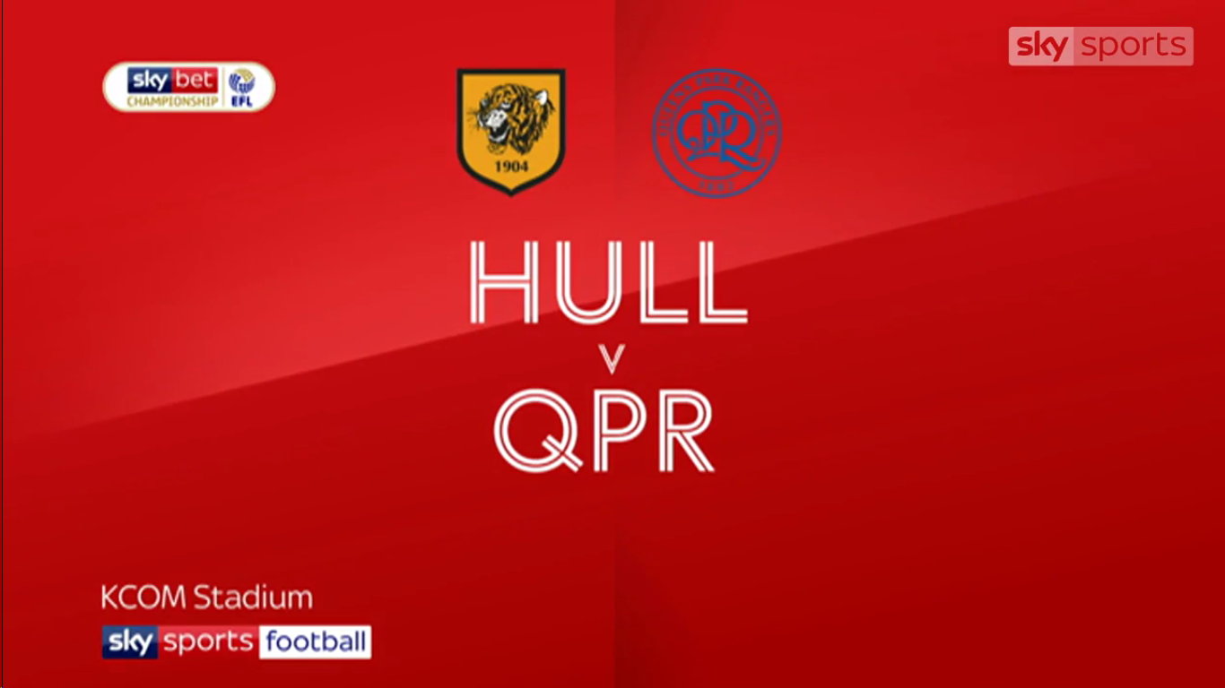 16-03-2019 - Hull City 2-2 Queens Park Rangers (CHAMPIONSHIP)