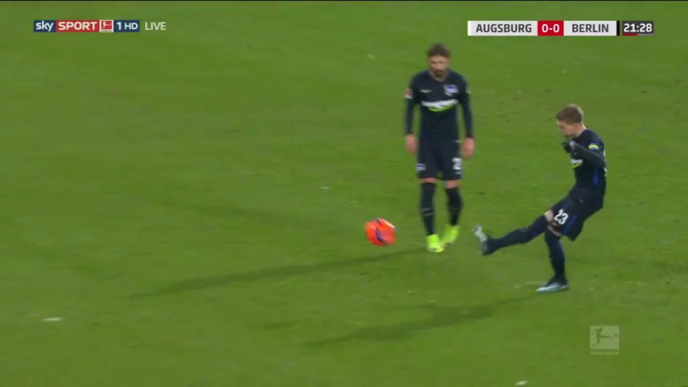 Augsburg 1-1 Hertha Berlin