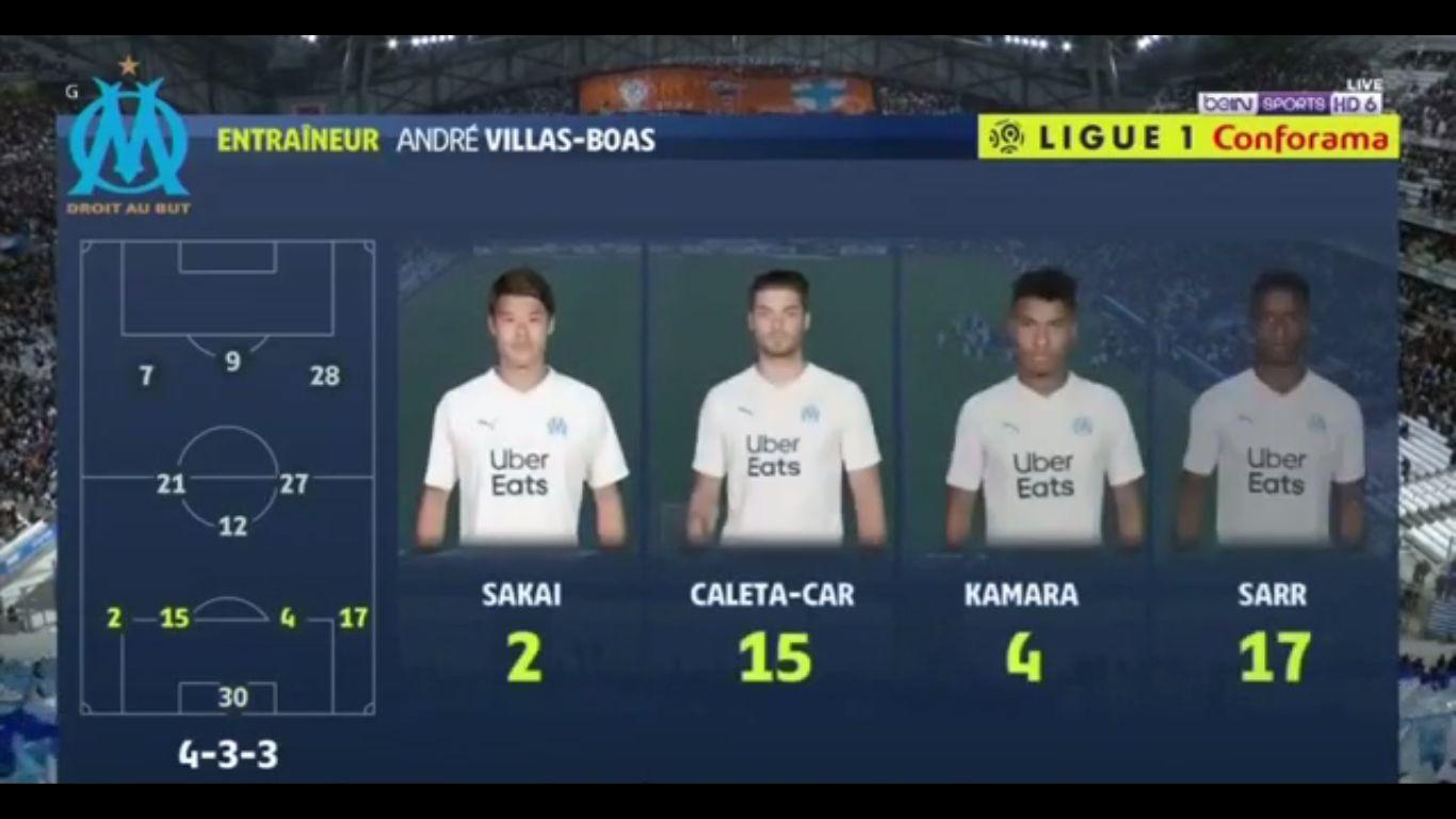 20-10-2019 - Marseille 2-0 Strasbourg