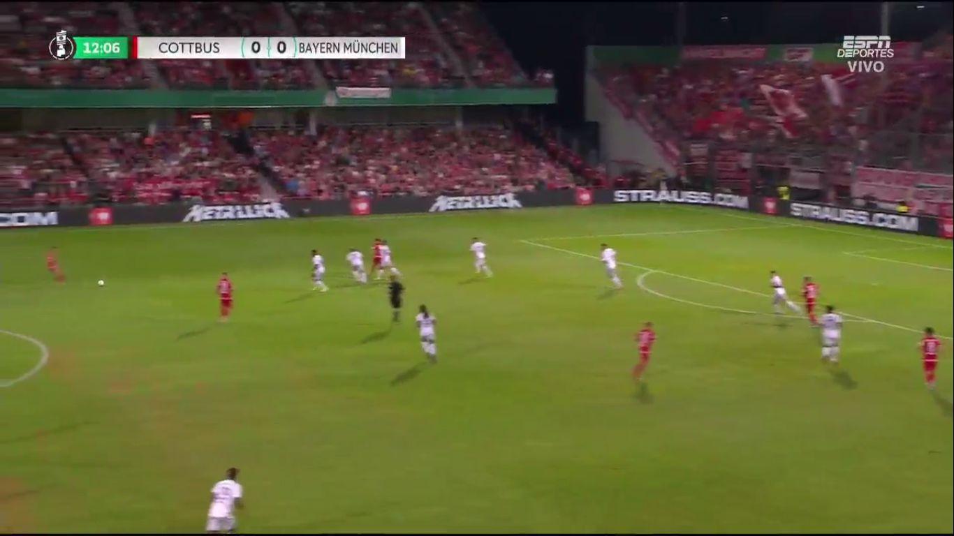 12-08-2019 - Energie Cottbus 1-3 FC Bayern Munchen (DFB POKAL)