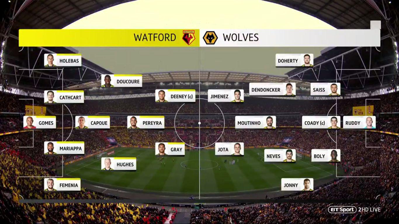 07-04-2019 - Watford 3-2 Wolverhampton Wanderers (FA CUP)