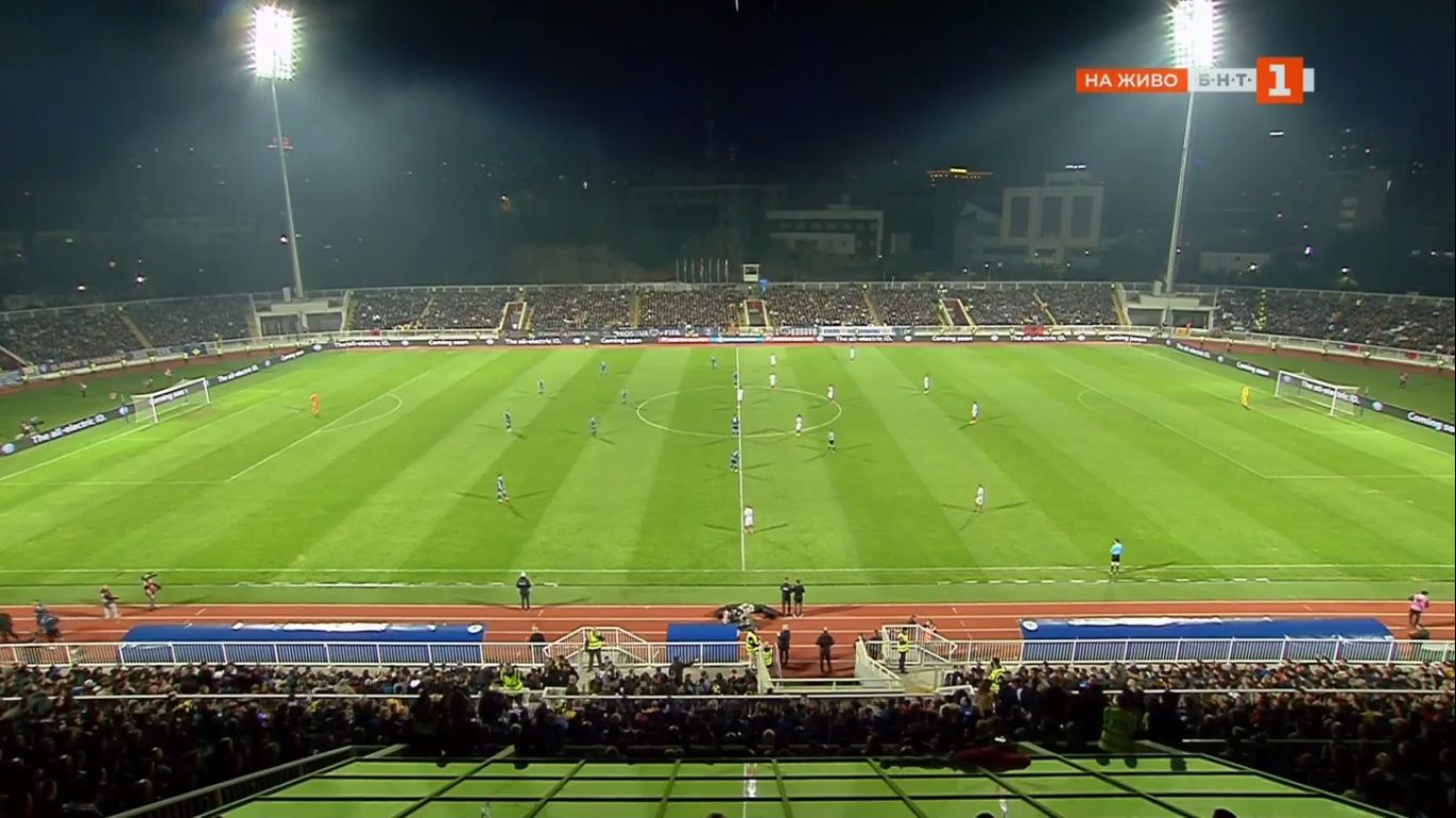 25-03-2019 - Kosovo 1-1 Bulgaria (EURO QUALIF.)