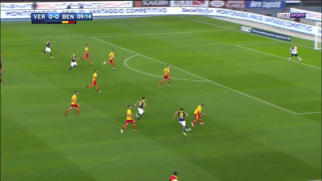 Hellas Verona 1-0 Benevento