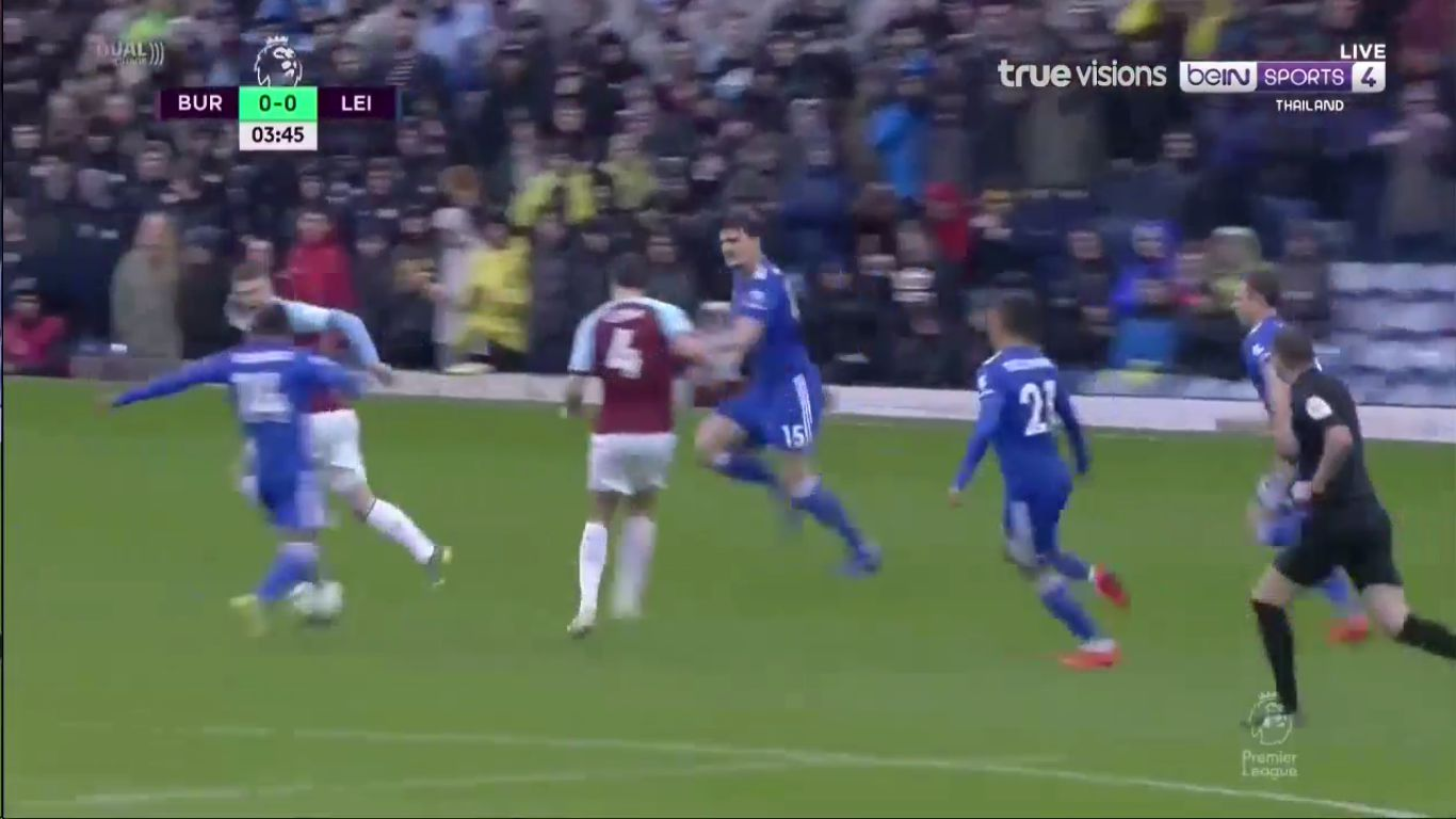 16-03-2019 - Burnley 1-2 Leicester City