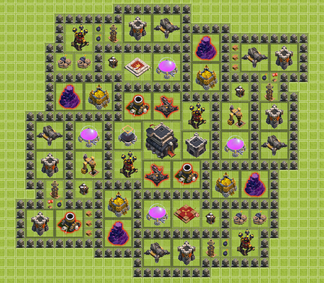 how to build a good clan base