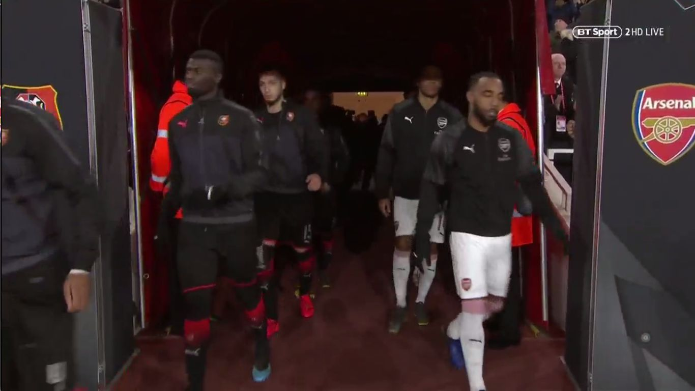 14-03-2019 - Arsenal 3-0 Rennes (EUROPA LEAGUE)