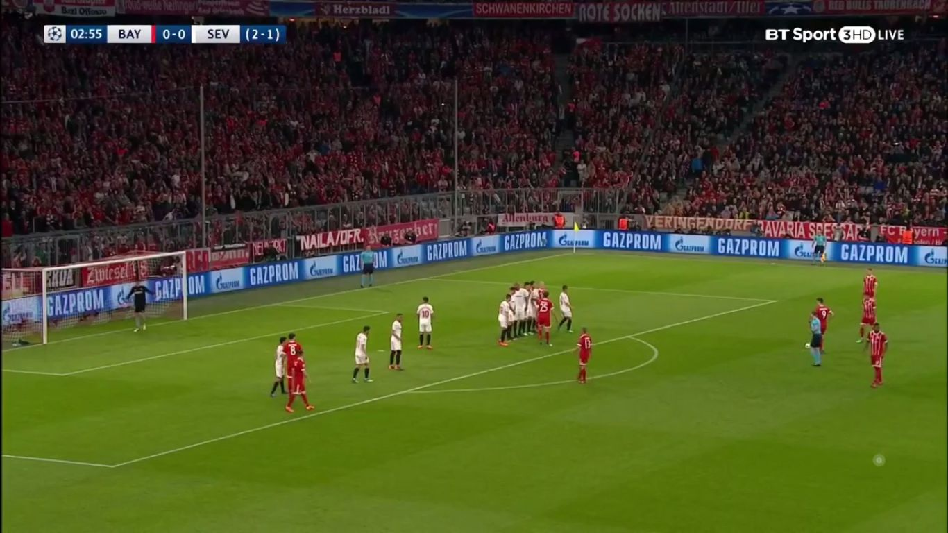 11-04-2018 - Bayern Munich 0-0 Sevilla (CHAMPIONS LEAGUE)