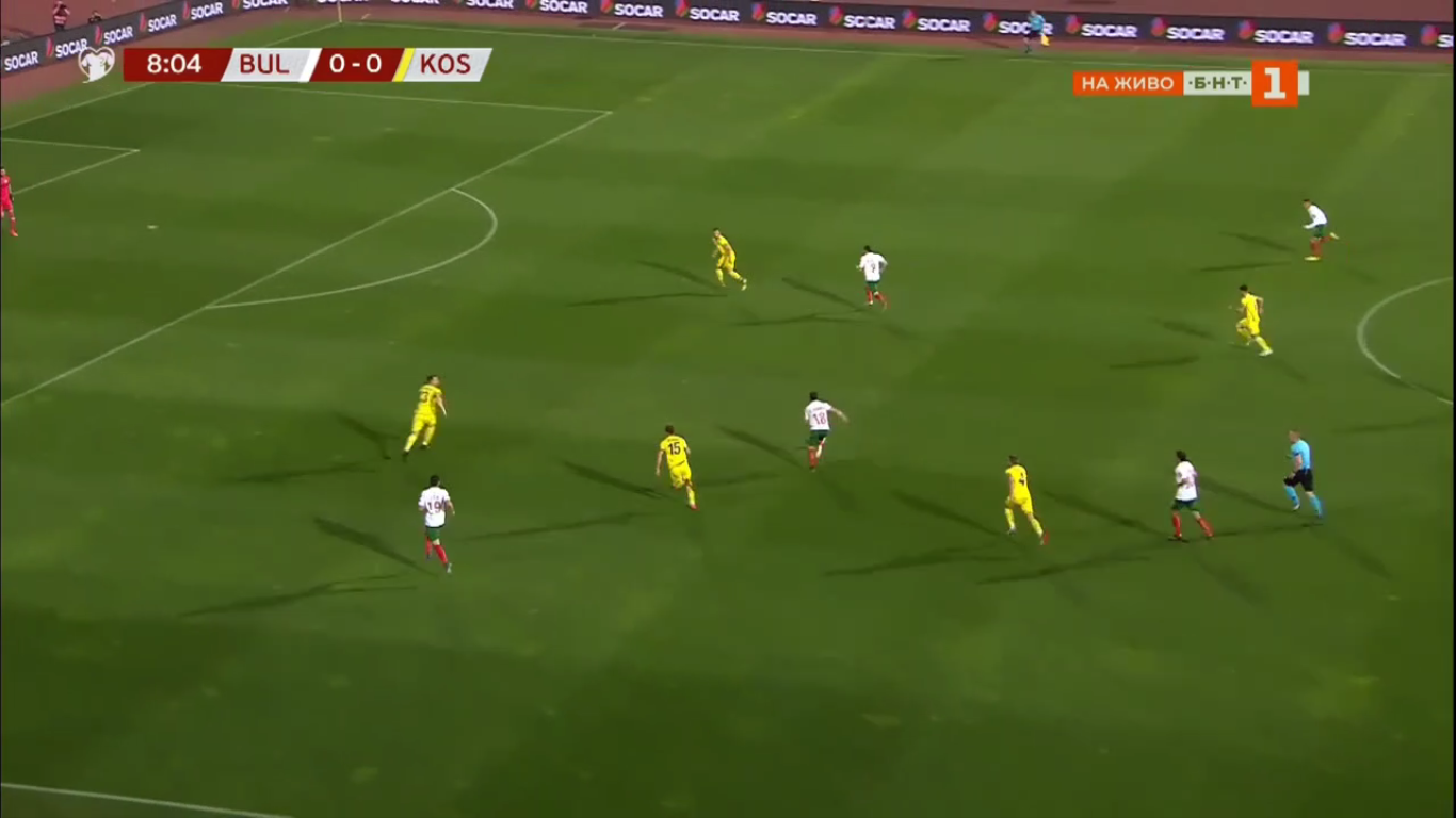 10-06-2019 - Bulgaria 2-3 Kosovo (EURO QUALIF.)