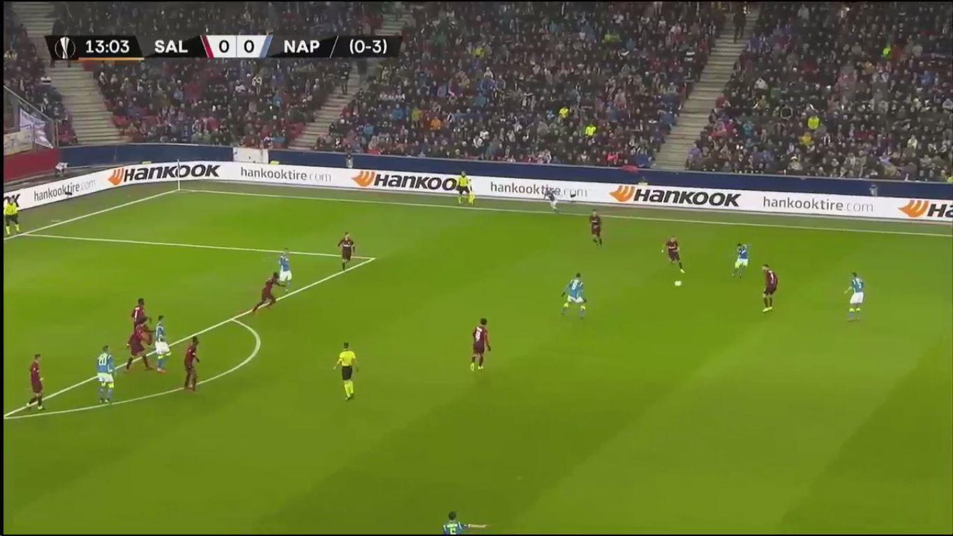 14-03-2019 - Salzburg 3-1 Napoli (EUROPA LEAGUE)