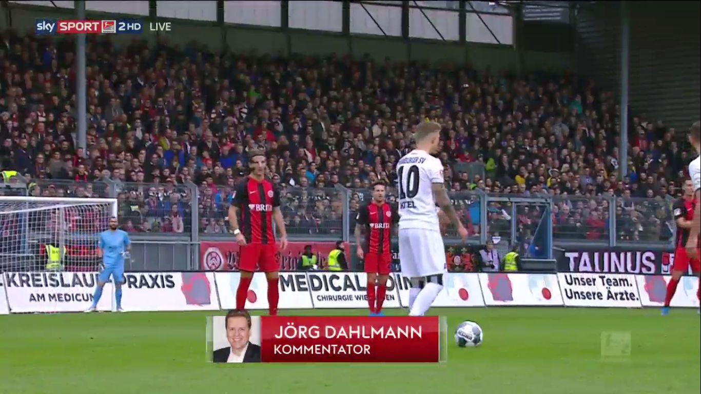 03-11-2019 - SV Wehen Wiesbaden 1-1 Hamburger SV (2. BUNDESLIGA)
