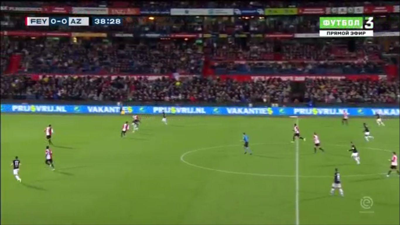 26-09-2019 - Feyenoord 0-3 AZ Alkmaar