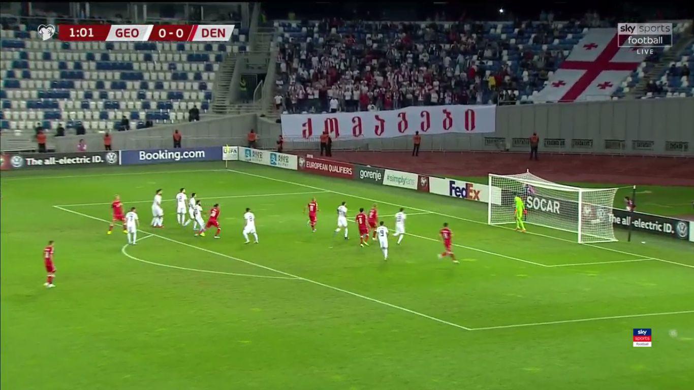 08-09-2019 - Georgia 0-0 Denmark (EURO QUALIF.)