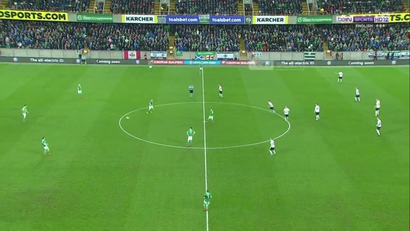 21-03-2019 - N. Ireland 2-0 Estonia (EURO QUALIF.)