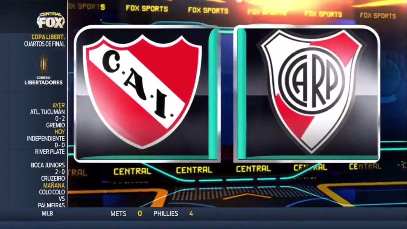 20-09-2018 - Independiente 0-0 River Plate (COPA LIBERTADORES)